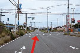 さくら都市 市原支店 交通案内(館山自動車道 市原ICより)2.1つ目の信号を右折